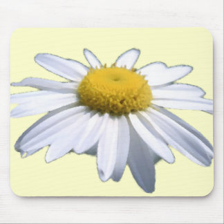 BEAUTIFUL DAISY - ASTERACEAE - SUNFLOWER MOUSE PAD