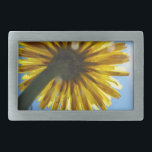 """Beautiful Daisy flower looking to the sky Rectangular Belt Buckle<br><div class=""""desc"""">A beautiful day in Israel walking along the desert and ran across a daisy flower that was just begging to be photographed as it stretched to the blue sunny sky.</div>"""