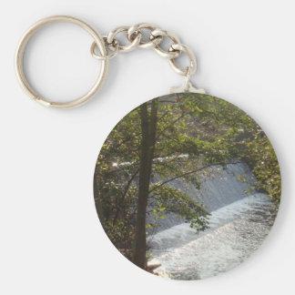 Beautiful Dam in Denmark Basic Round Button Keychain