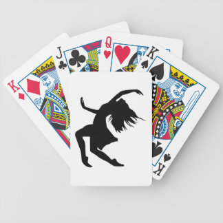 Beautiful Dancer Playing Cards
