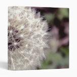 Beautiful Dandelion Photo Vinyl Binder
