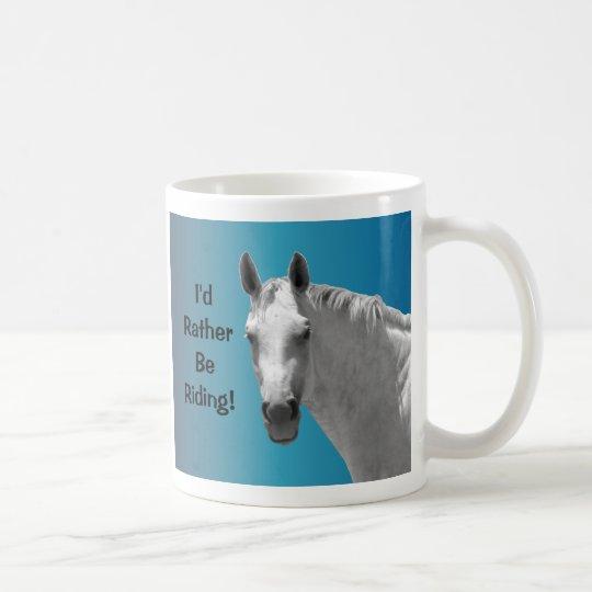 Beautiful Dapple Grey Horse Coffee Mug