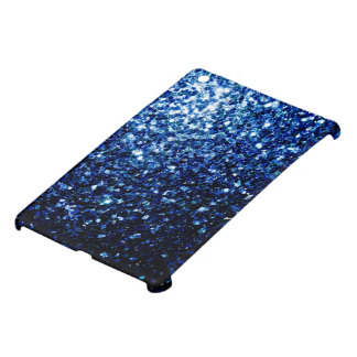 Beautiful Dark Blue glitter sparkles Cover For The iPad Mini