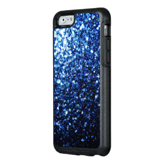 Beautiful Dark Blue sparkles OtterBox iPhone 6/6s Case