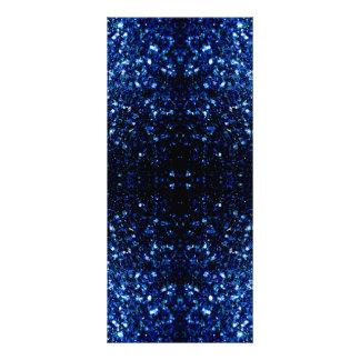 Beautiful Dark Blue sparkles v4 Rack Card