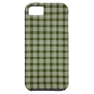 Beautiful, Dark Green and White iPhone SE/5/5s Case