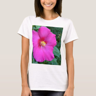 Beautiful Dark Pink Hibiscus T-Shirt