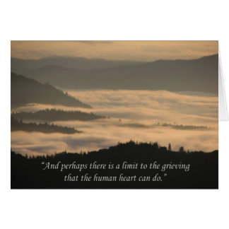 Beautiful Dawn Breaking the Forest Support Card