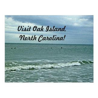 Beautiful Day Along The Beach Postcard