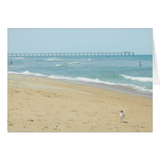 Beautiful Day at The Beach Card