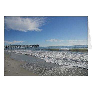 Beach Themed Beautiful Day At The Beach Card