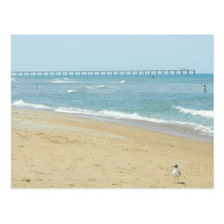 Beautiful Day at The Beach Postcard
