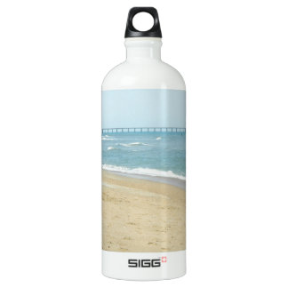 Beautiful Day at The Beach Water Bottle