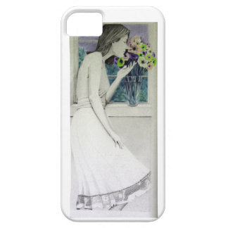 Beautiful Day Flower Girl iPhone SE/5/5s Case