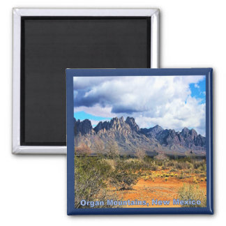 Beautiful Day on the Organ Mountains Magnet