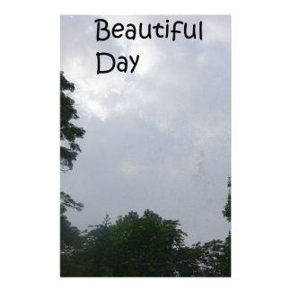 beautiful day stationery