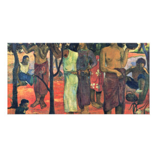 Beautiful Days (Nave Nave Mahana) By Gauguin Paul Customized Photo Card