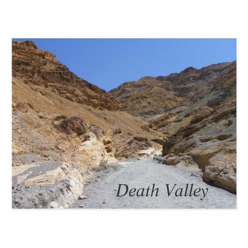 Beautiful Death Valley Postcard! Postcard