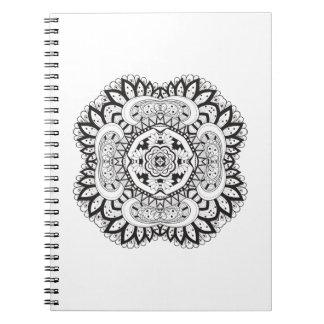 Beautiful Deco Square Doodle Notebook