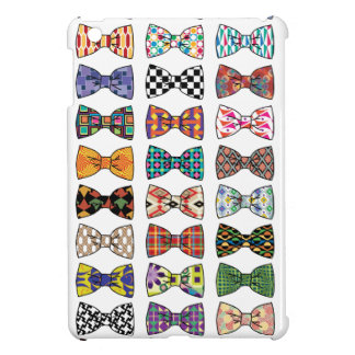 Beautiful Decorative Bow Tie Patterns iPad Case