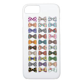 Beautiful Decorative Bow Tie Patterns iPhone 7 cas iPhone 8/7 Case