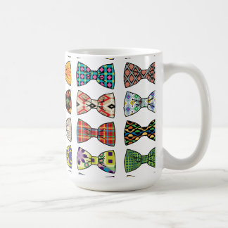 Beautiful Decorative Bow Tie Patterns Mug