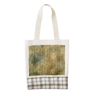 Beautiful  decorative vintage design zazzle HEART tote bag
