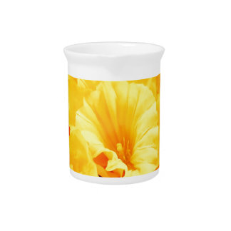 Beautiful Design Art Flowers Floral Flowers Colour Beverage Pitchers