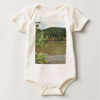 Beautiful Devils Lake Oregon Baby Bodysuit