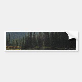 Beautiful Devils Lake Oregon Bumper Sticker