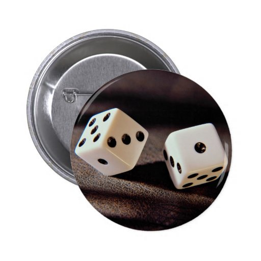 Beautiful Dice on a roll Pins