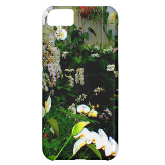 Beautiful display or exotic orchids growing iPhone 5C case