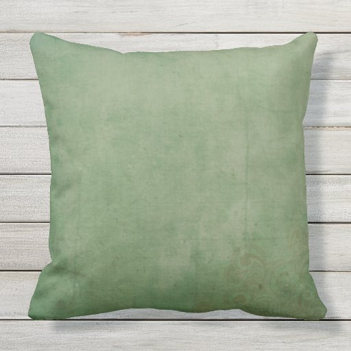 Wash Or Throw Away Pillows : BEAUTIFUL DISTRESSED OLIVE WASH Throw Cushion Outdoor Pillow Zazzle