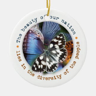 Beautiful Diversity Holiday Ornament