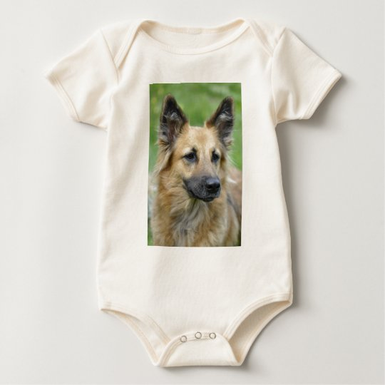 Beautiful Dog Baby Bodysuit