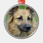 Beautiful Dog Christmas Tree Ornament