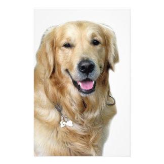 "Beautiful Dog Golden Retriever and Your Bone 5.5"" X 8.5"" Flyer"