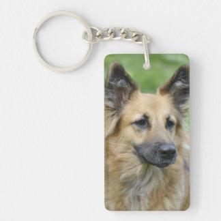 Beautiful Dog Keychain