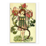 Beautiful Dog Rose by NELLIE BENSON Postcard