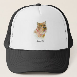 """Beautiful""""  Dog Thoughts T shirt by Diane Heller Trucker Hat"""