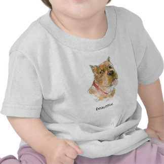 Beautiful Dog Thoughts T shirt by Diane Heller