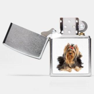 Beautiful dog zippo lighter