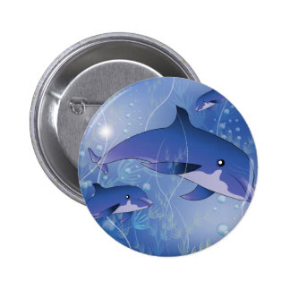 Beautiful dolphin pins