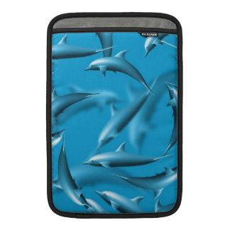 Beautiful Dolphins MacBook Sleeve