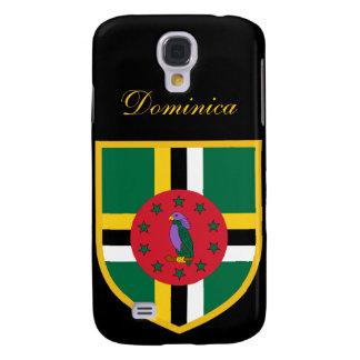 Beautiful Dominica Flag Samsung S4 Case