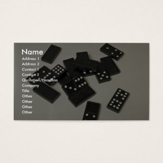 Beautiful Dominoes Business Card