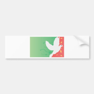Beautiful Dove Bumper Sticker