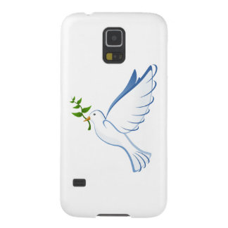 Beautiful Dove Carrying Plant Galaxy S5 Case