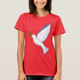 Beautiful Dove Carrying Plant T-Shirt