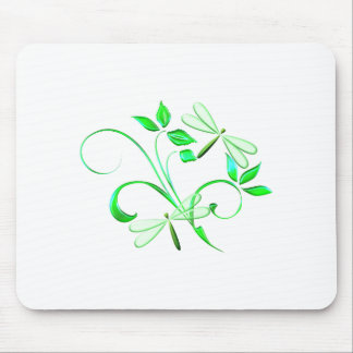 Beautiful Dragonflies Mouse Pad
